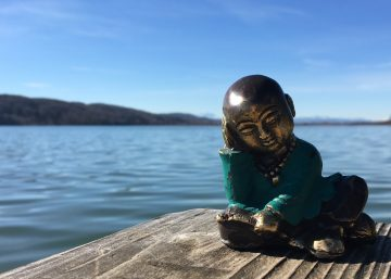 MBSR_Achtsamkeint Meditation am See